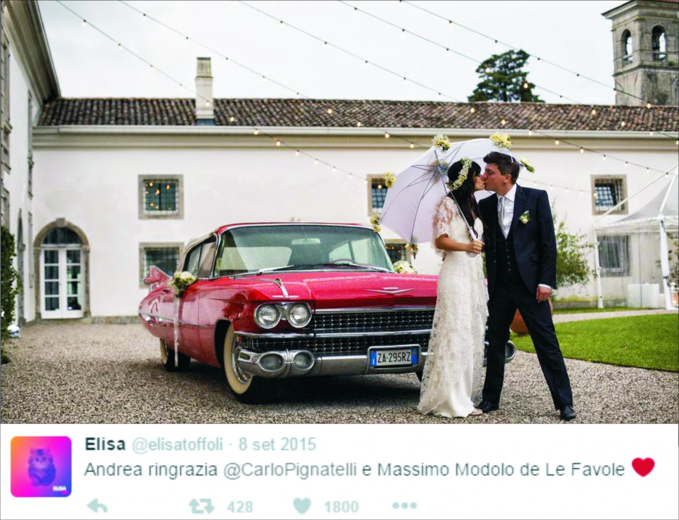 Top Matrimonio di Elisa Toffoli e Andrea Rigonat | Favole Uomo  GE45
