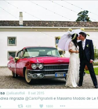 Favole Uomo - Matrimonio di Elisa Toffoli e Andrea Rigonat